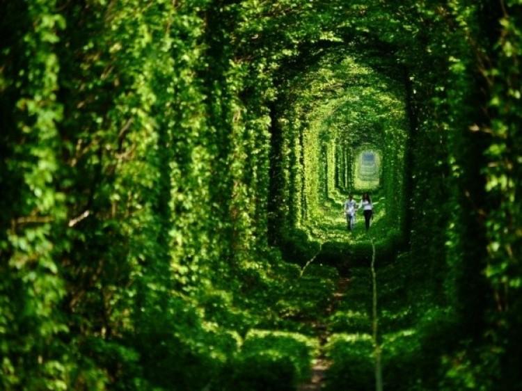 Tunel miłości na Ukrainie