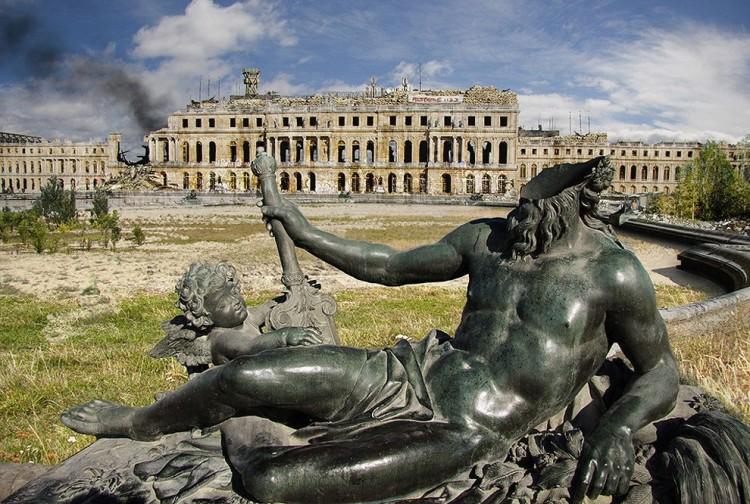 Pałac w Wersalu, Francja