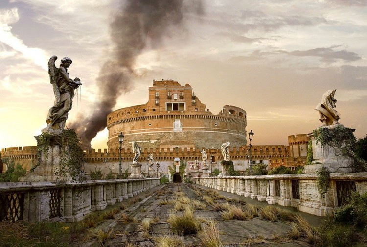 Castel Sant-Angelo, Rzym, Włochy
