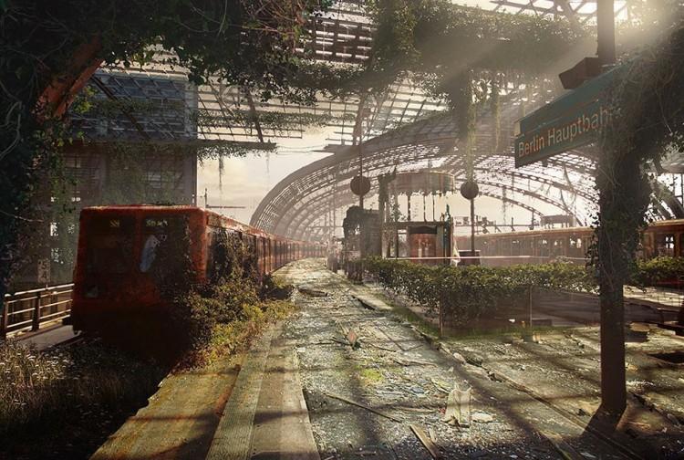 Dworzec kolejowy w Berlinie, Niemcy