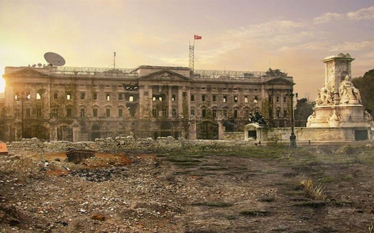 Buckingham Palace, Londyn, Wielka Brytania