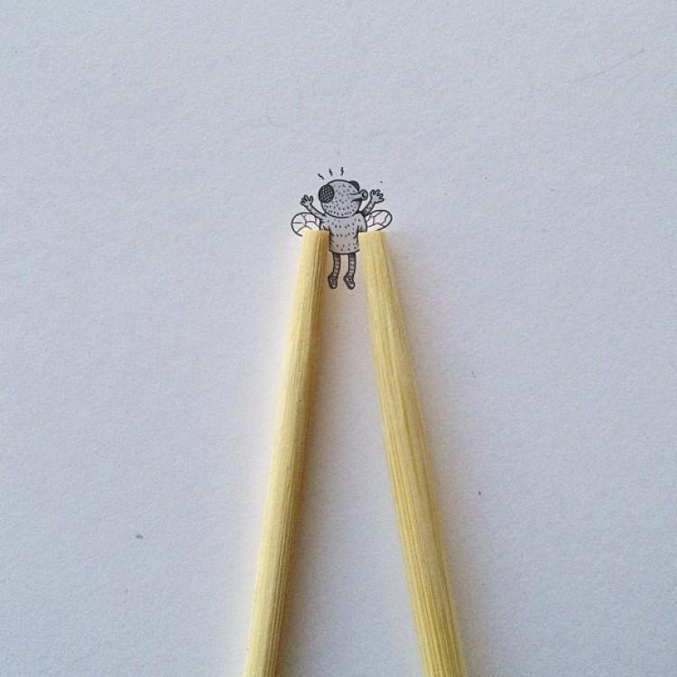 Mucha z kreskówki