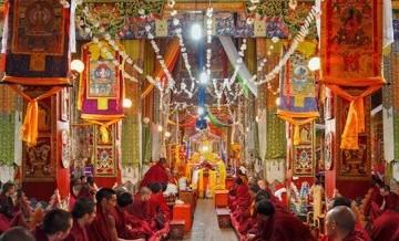 Buddyjskie  świątynie w Chinach.