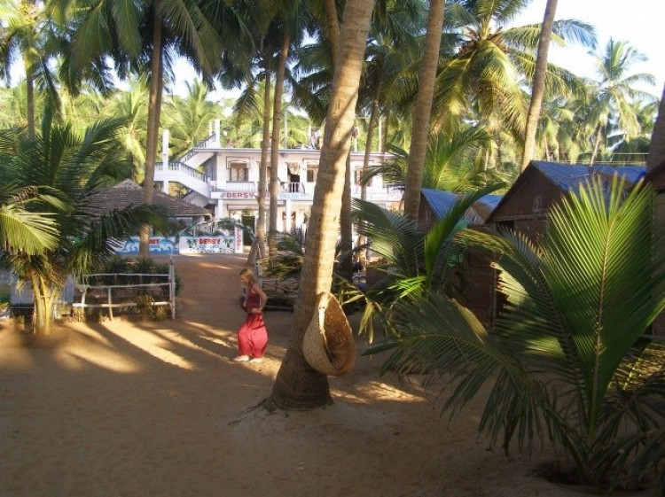 Plaże Agonda, Goa, Indie