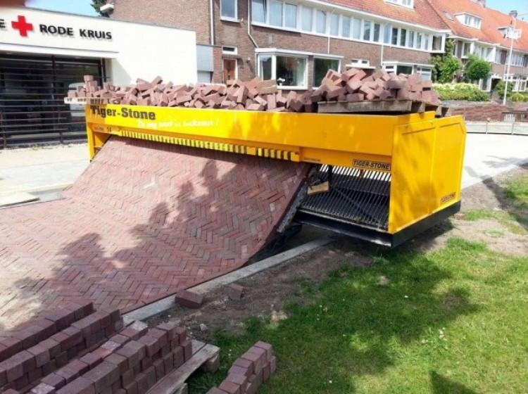 Maszyna do układania chodników