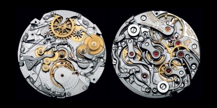 Wewnętrzny mechanizm zegarka Patek Philippe