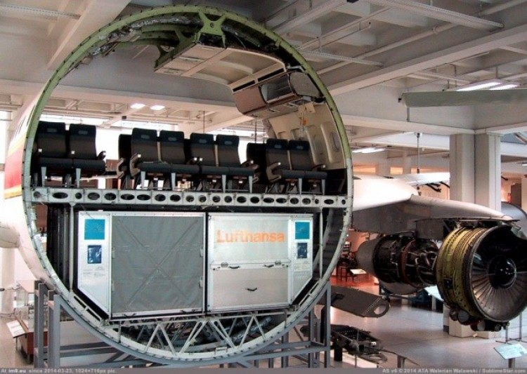 Komora samolotu pasażerskiego