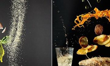 Zawieszone w powietrzu jedzenie: oryginalne zdjęcia przepisów.