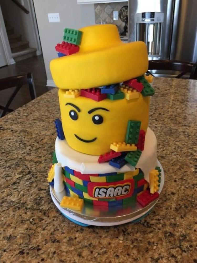 Niesamowite ciasto na urodziny dziecka.