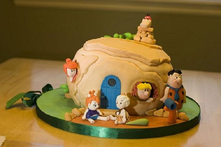 Ciasto, na podstawie kreskówki