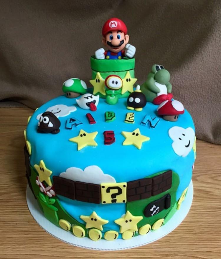 Tematyczne ciasto dla dzieci.