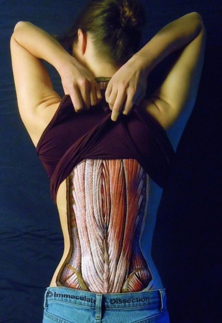Wewnętrzne piękno ciała.