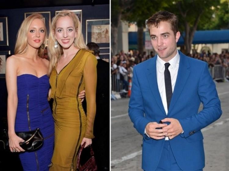 Lizzy i Victoria Pattinson, siostry Roberta Pattinsona