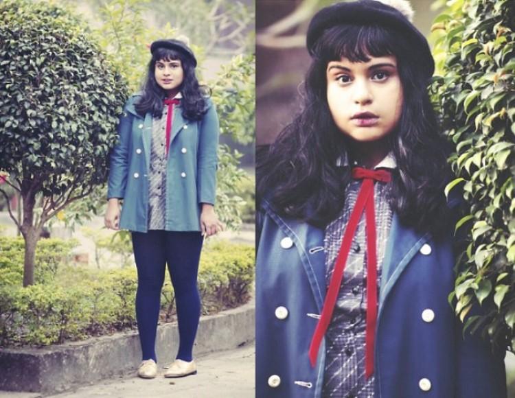 Dziewczyna z Indii Ragini Nag Rao, nie tylko ma własnego bloga, ale też pisze artykuły do internetowego czasopiśma mody xoJane.