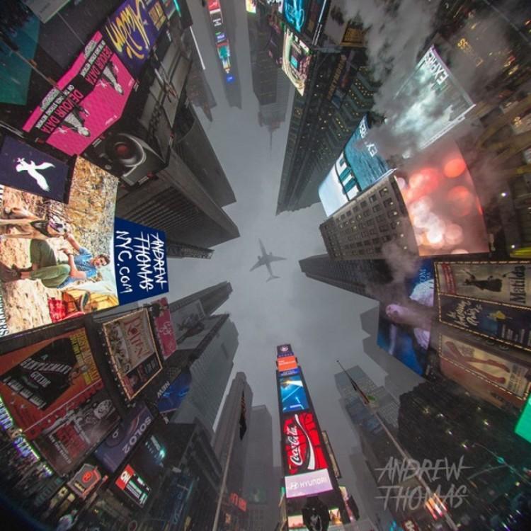 Tymczasem na Times Square.