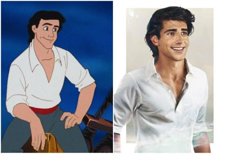 Jak wyglądałyby książęta z bajek  Disneya w prawdziwym życiu?