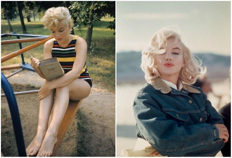 Inne zdjęcia Marilyn Monroe.