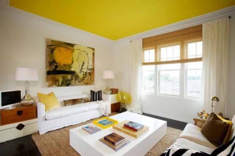 Trik 15: kolorowy sufit.