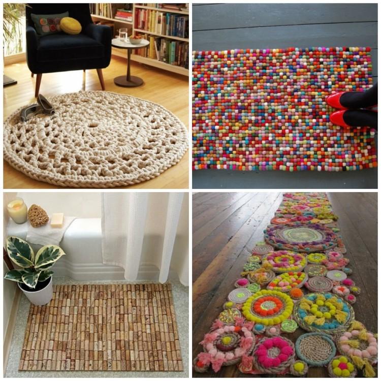 Własnoręcznie zrobiony dywanik