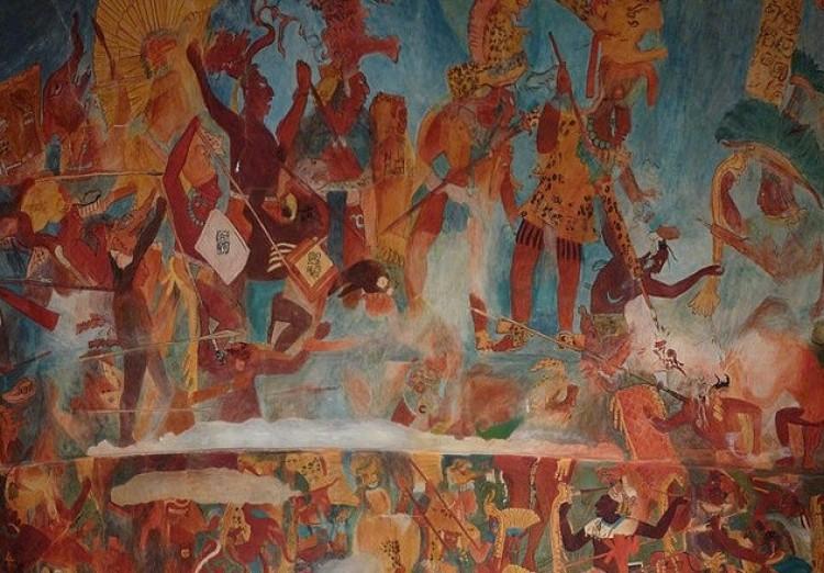 Ofiary Maya