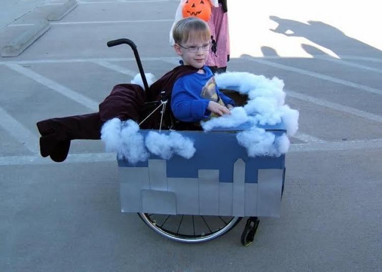 W wieku 4 lat Caleb został Supermanem!