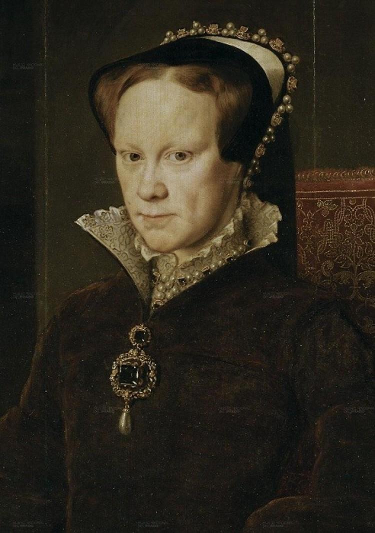 Królowa Anglii Maria I Tudor- krwawa Mery