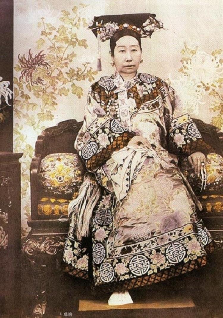 Chińska cesarzowa Qi Xi