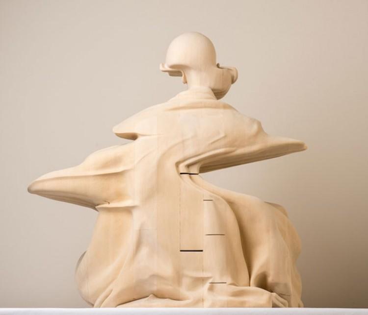 Niezwykła rzeźba australijskiego artysty.