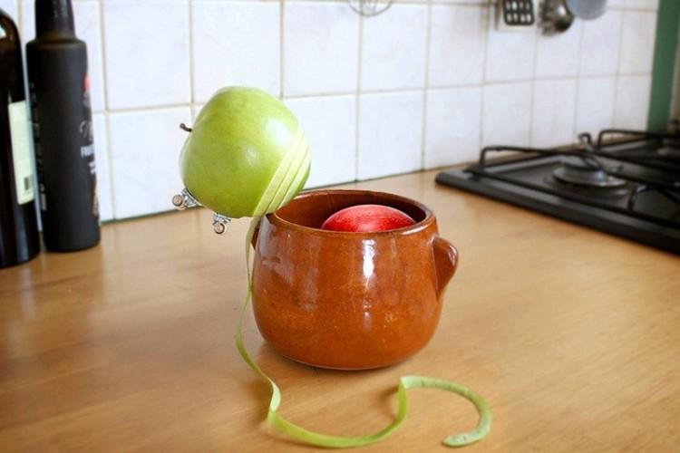 Jabłko żądne adreanaliny.
