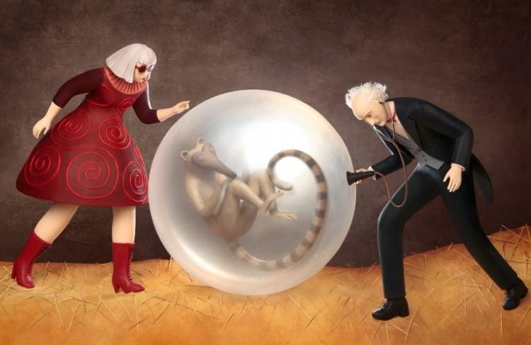 Ilustracje 3D Irmy Gryunholtsa.