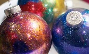 Łatwe do własnoręcznego wykonania ozdoby świąteczne.