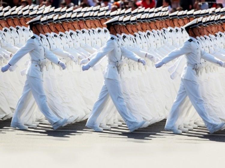 Parada w Chinach.
