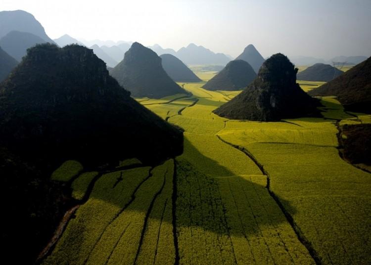 Czekoladowe wzgórza, Chiny.