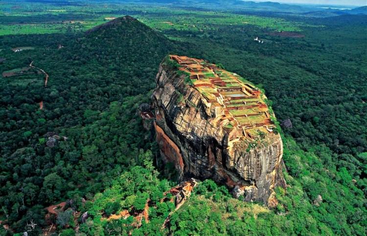 Lwia góra, Sri Lanka.