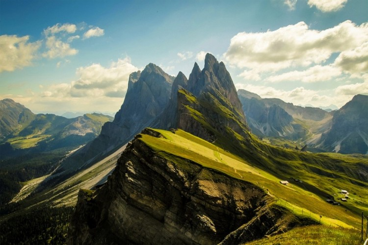Dolomity, Włochy.