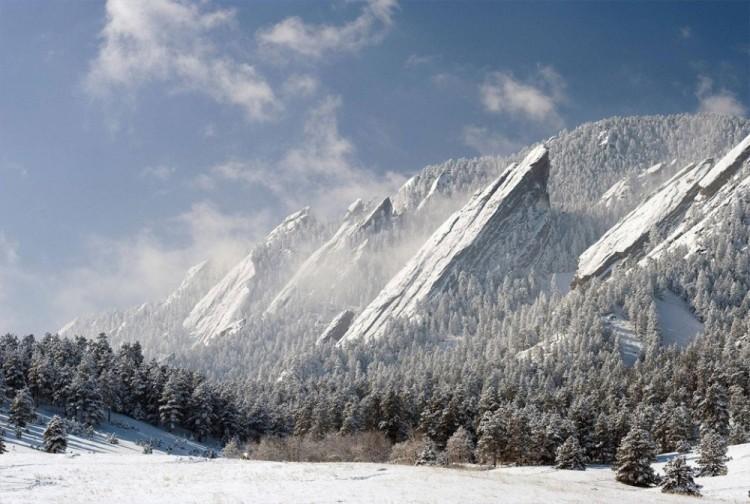 Surrealistyczne góry Colorado, USA.