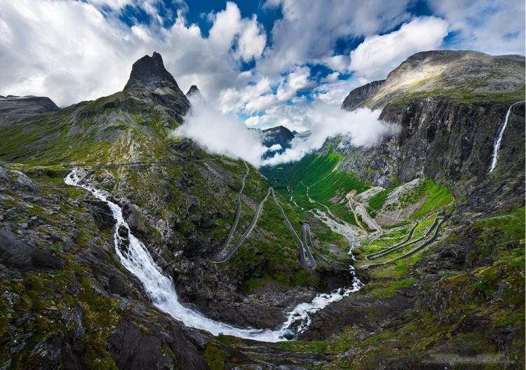Trolli szlak, Norwegia.