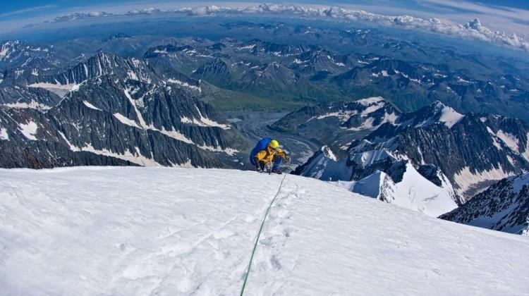 Najwyższy punkt na Syberii góra Belukha, w Rosji.