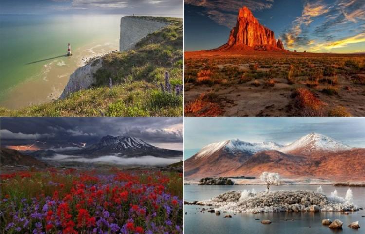 Niesamowite krajobrazy Ameryki.
