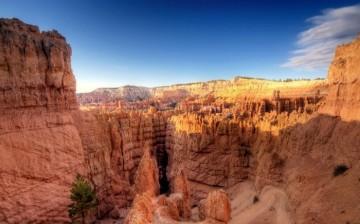 Wspaniałe góry. Utah.