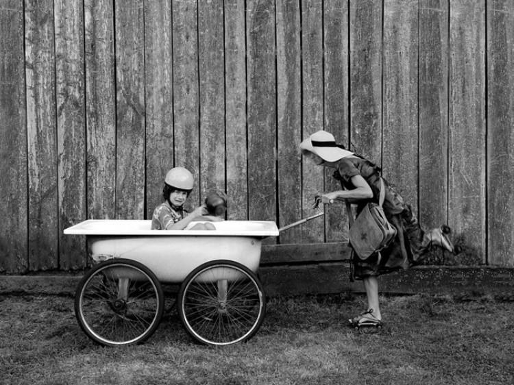 Dziecko wojny.  Zdjęcie: Sebastian Luczywo.