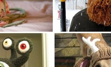 Czapki robione na drutach. Nosilibyście?