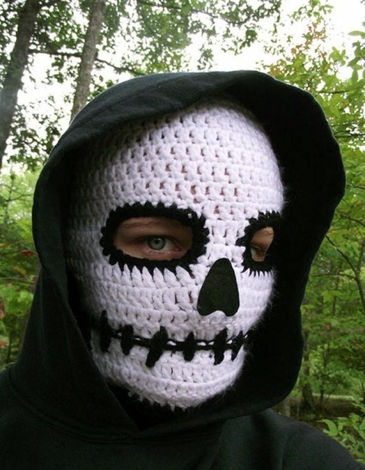 Czy taka maska może przestraszyć?