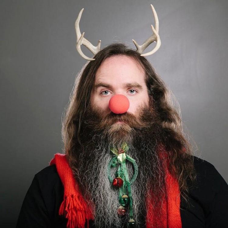 Świąteczne brody..