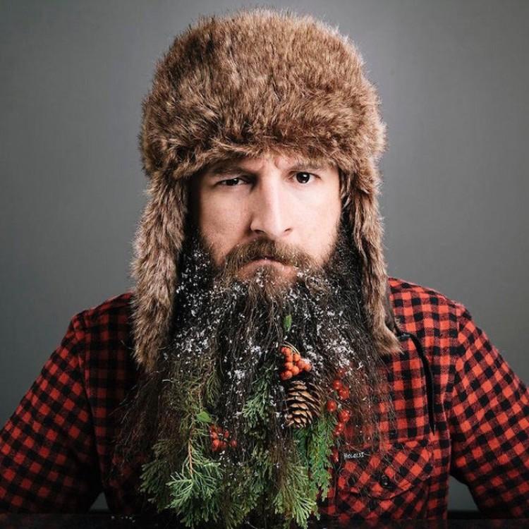 Seria Bożonarodzeniowych dekoracji.