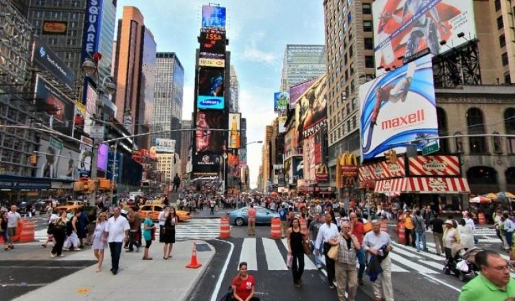 Times Square w Nowym Jorku.