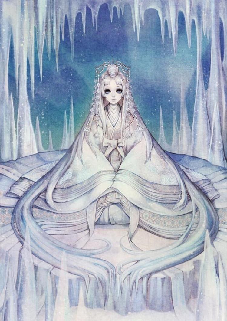 Królowa śniegu.